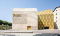 Grand Palais Cinema vefrancouzském měste Cahors odateliéru Antonio Virga Architecte