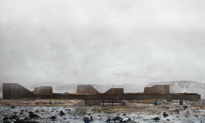 Poblíž islandské sopky Hverfjall má vyrůst nenápadné Iceland Volcano Museum