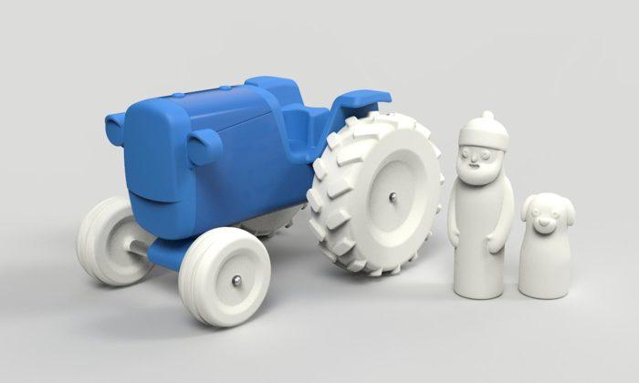 Český výrobce hraček Kovap chystá plechovému traktůrku mladšího brášku