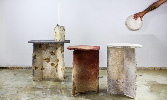 LLEV navrhli interiérové doplňky zpodhoubí apracovní stoly svůní přírody