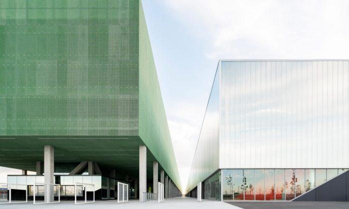 OMA postavila vToulouse supermoderní výstavní akongresové centrum MEETT