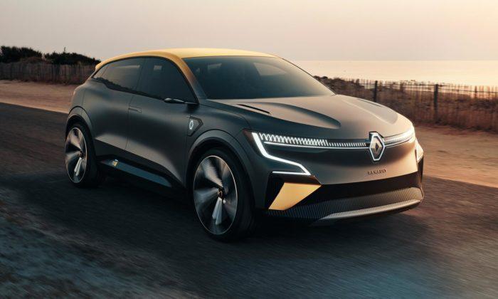 Renault představil koncept Megane eVision naznačující blížící seproměnu designu značky