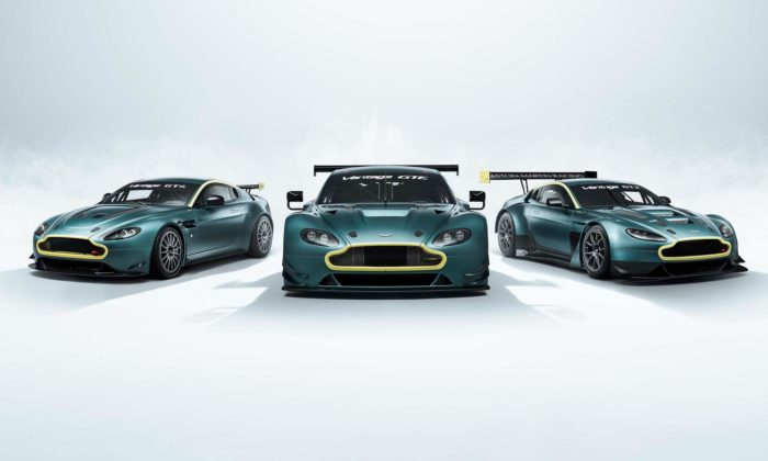 Aston Martin oslavuje sérii vítězství speciální edicí Vantage Legacy Collection