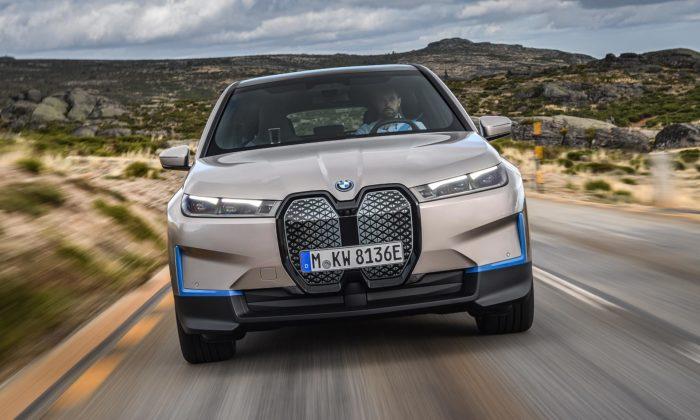BMW udělalo zvize iNEXT koncept plánovaného modelu iX pro rok 2021