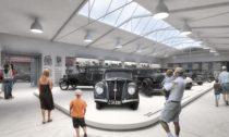 Plánované muzeum vozů Praga vChomutově