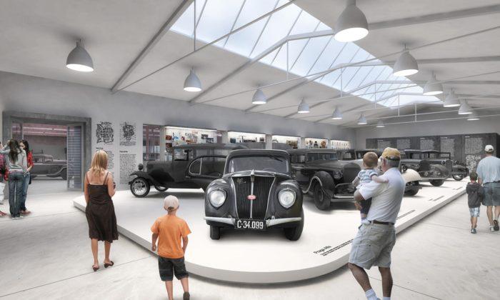 Ve starých továrnách vChomutově postaví muzeum vozů Praga