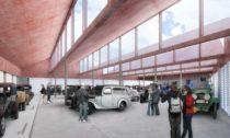 Plánované muzeum vozů Praga v Chomutově