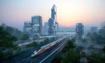 Foster + Partners ajejich vítězný návrh naGuangming Hub