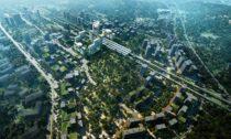 Foster + Partners a jejich vítězný návrh na Guangming Hub