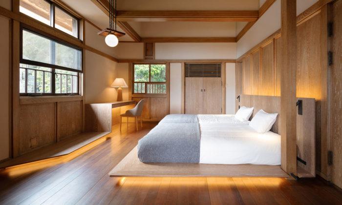 V Japonsku přestavěli rezidenci odžáka Franka Lloyda Wrighta nahotel Hayama Kachitei