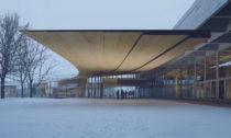 Ibsenova knihovna v norském městě Skien