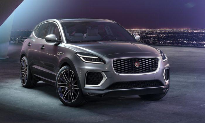 Jaguar modernizuje kompaktní model E-Pace adává mu nový exteriér iinteriér