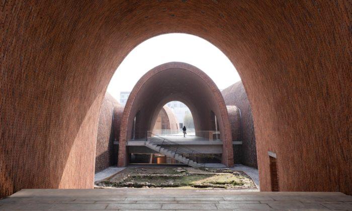 Zhu Pei postavil zoblouků muzeum císařských pecí kuctění porcelánového dědictví