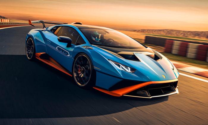 Lamborghini Huracán STO jenejvýkonnější verze určená naokruhy isilnice