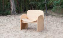 Filip Krampla a jeho dřevěné Li Chair