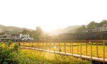Rýžový pavilon v čínském Fuzhou
