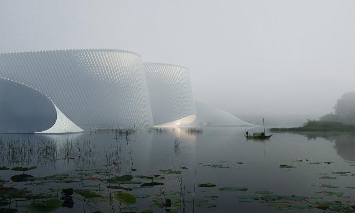 Shenzhen postaví rozvlněné Muzeum přírodní historie svyhlídkou nastřeše