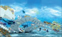 The ReefLine u pobřeží Miami Beach od ateliéru OMA