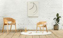 Ton a židle s područkami Merano