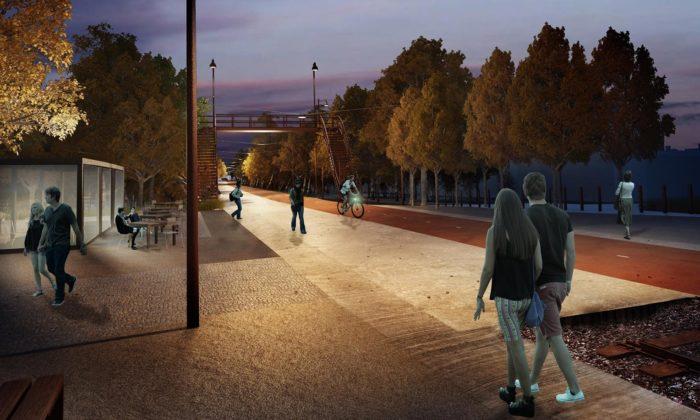 Mezi pražskými Vršovicemi aStrašnicemi vznikne Drážní promenáda aliniový park