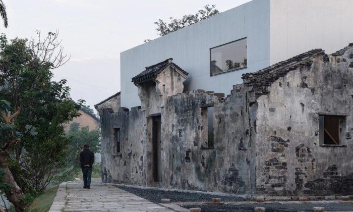 Muzeum kultury Zhang Yan bylo postaveno naruinách tisíc let staré vesnice