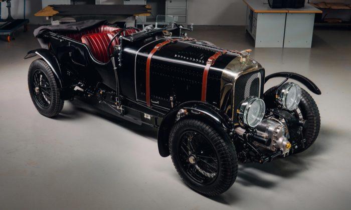 Bentley vyrobilo pomocí laserového skenování repliku legendárního modelu Blower