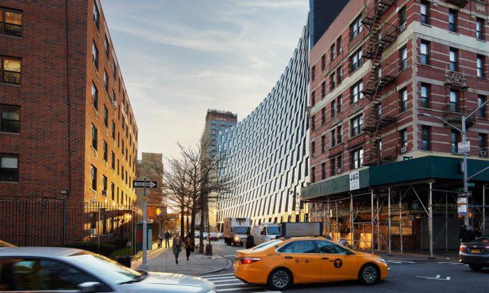 BIG postavili vNew Yorku usměvavý bytový dům The Smile