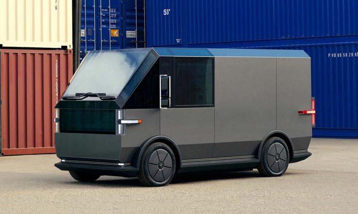 Canoo představilo elektrickou dodávku shranatým designem askvělou cenou