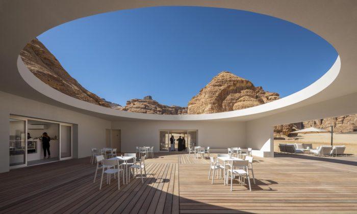 Saúdská Arábie postavila vestarověké oáze AlUla moderní návštěvnické centrum
