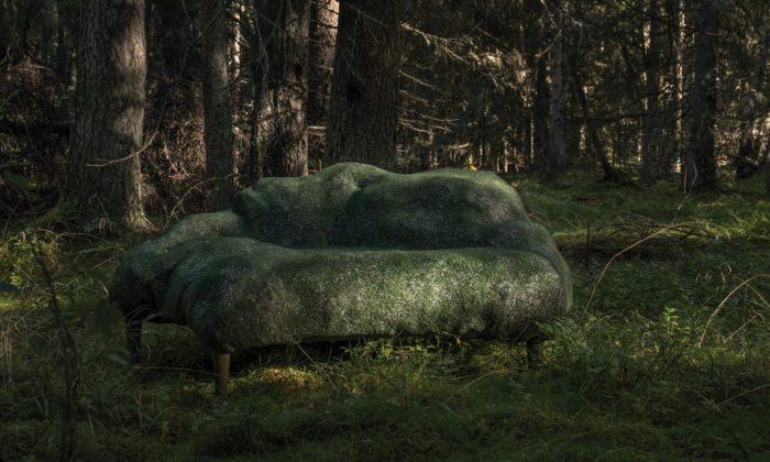 Design by Nature jekolekce pohovek odFront napodobující kusy přírody