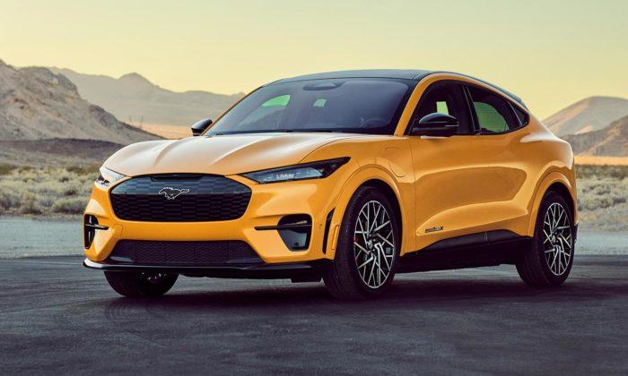 Ford Mustang Mach-E dostal speciální GT Performance Edition svýkonem 480 koní