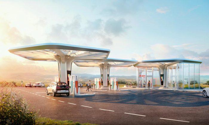 Graft navrhli futuristické nabíjecí stanice pro rychlé dobíjení elektromobilů