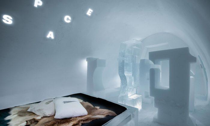 IceHotel seporoce otevřel s12 pokoji včetně ledové sauny aobřadní síně