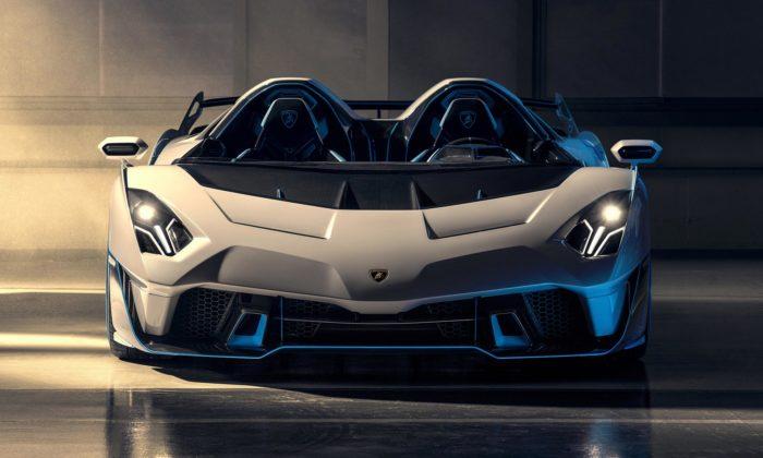 Lamborghini SC20 jezávodní divizí speciálně upravený supersport nasilnice