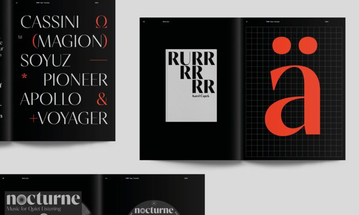 Písmolijna Form odJana Bubleho získala Národní cenu za studentský design 2020