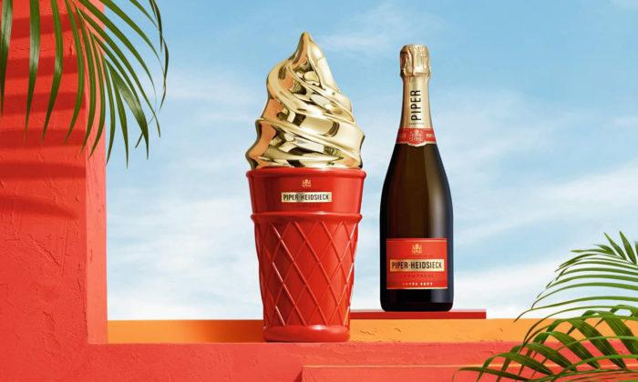 Šampaňské Piper-Heidsieck uvádí limitované edice Ice Cream aPerfume