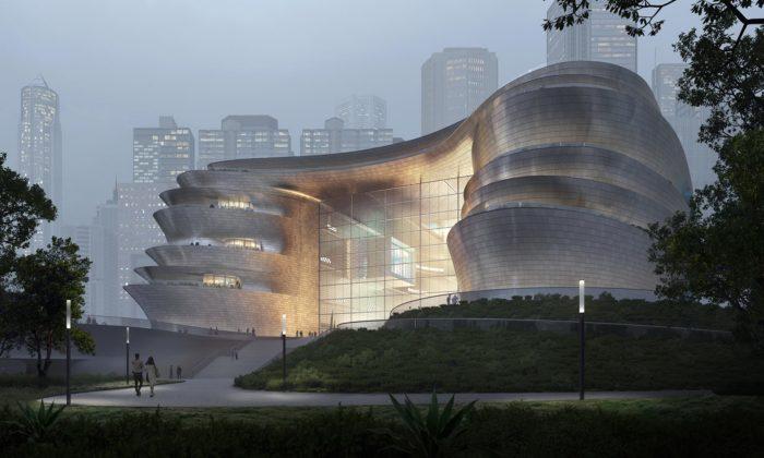 Zaha Hadid Architects postaví vShenzhenu futuristické muzeum vědy atechnologie