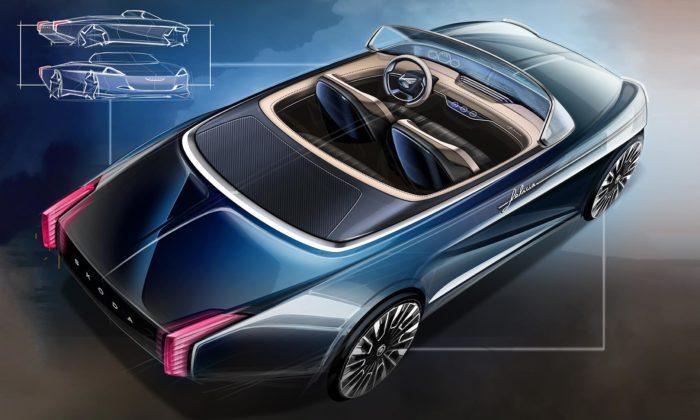 Designér ze Škoda Auto navrhl ikonický model Felicia jako moderní kabriolet