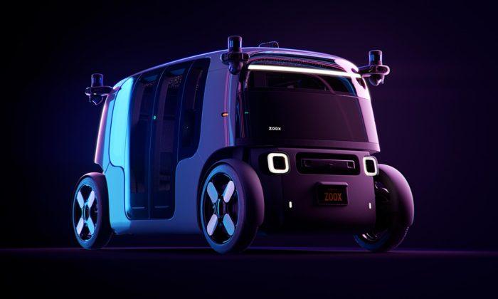 Zoox navrhl autonomní robotické taxi svlídnou tváří amoderním interiérem