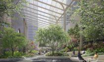 Revitalizace anová zahrada vbudově 550 Madison Garden odateliéru Snøhetta