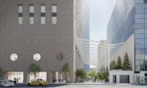 Revitalizace a nová zahrada v budově 550 Madison Garden od ateliéru Snøhetta
