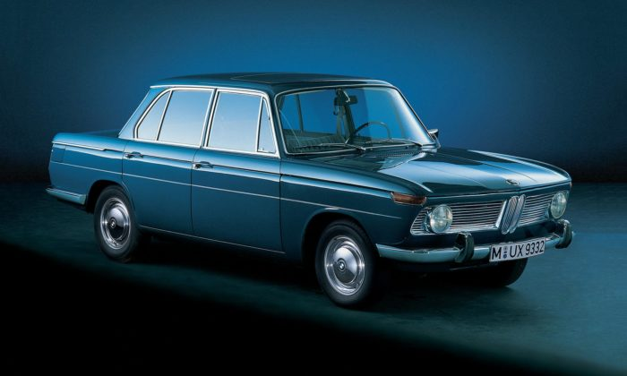 BMW slaví 60 let odjednoho zhistoricky nejdůležitějších modelů BMW 1500