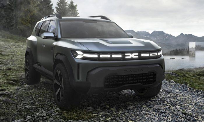 Dacia ukázala koncept Bigster vpřekvapivém designu ukazující nový směr značky