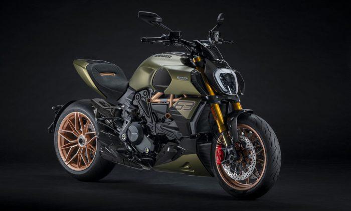 Motorka Ducati Diavel 1260 Lamborghini má design inspirovaný supersportem Sián