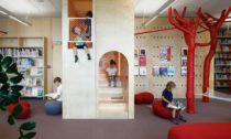 Dětská knihovna vLotyšsku odGaiss