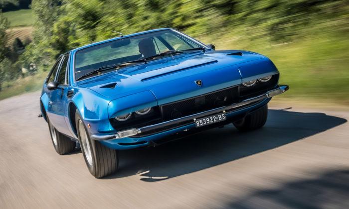 Hranaté kupé Lamborghini Jarama GT odGandiniho slaví 50 let
