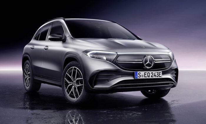 Mercedes-Benz proměnil koncept EQA vpovedený elektrický crossover
