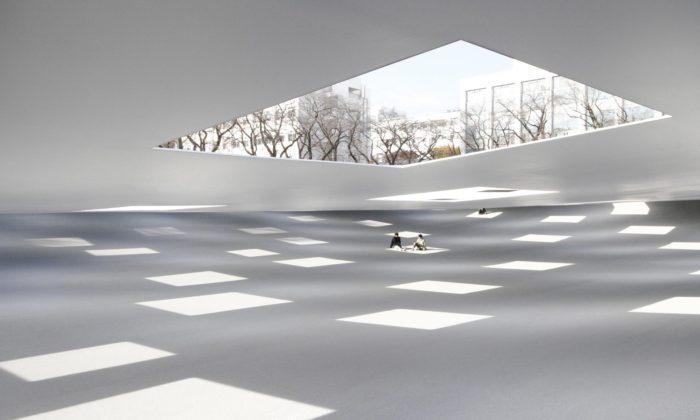 U vysoké školy vJaponsku postavili náměstí pro relaxaci ipozorování vesmíru