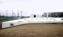 Plaza of Kanagawa Institute of Technology od Junya Ishigami Associates
