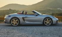 Porsche Boxster ve výroční edici 25 let